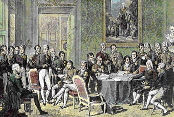 Congress of Vienna 1815 by Jean-Baptiste Isabey