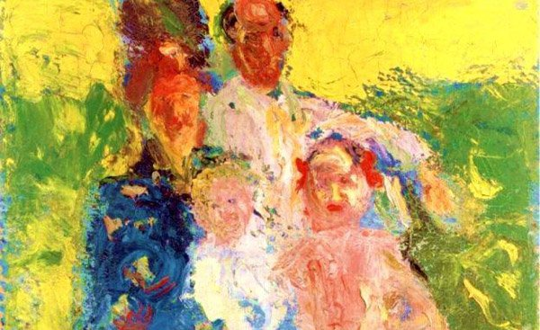 The Schoenberg Family painted in summer 1908 by Richard Gerstl (1883-1908)