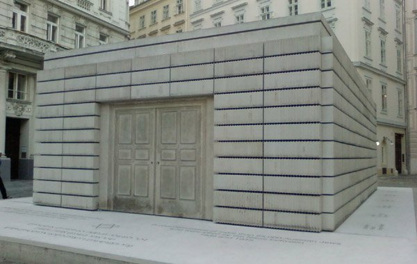 Rachel Whiteread's Holocaust memorial in Vienna