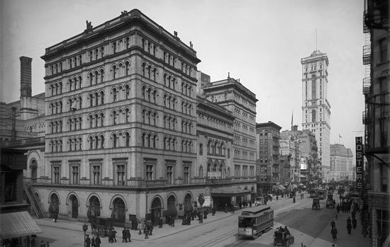 The Metropolitan Opera, New York, at around the time of Mahler's conductorship, 1908–09