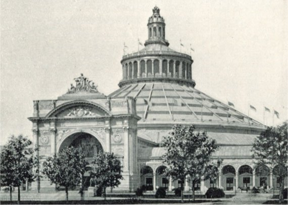Rotunde, built in the Vienna Prater for the 5th World Expo in 1873