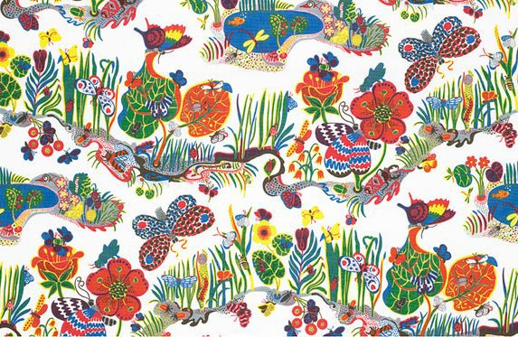 Josef Frank, butterfly textile