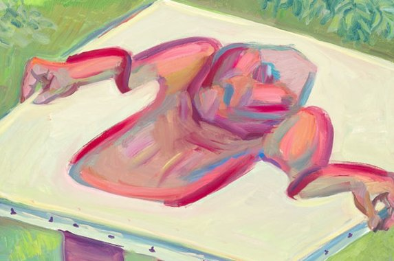 Maria Lassnig, Inside and Outside the Canvas IV 1984–5